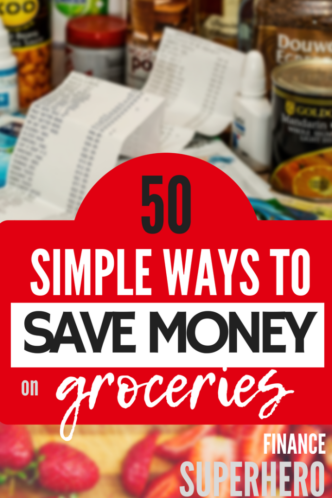 The money you spend on groceries can be your biggest budget expense if you're not careful, especially if you're feeding a big family! We've got you covered with 50 simple and easy to implement budget tips designed to help you save money on food each and every month.