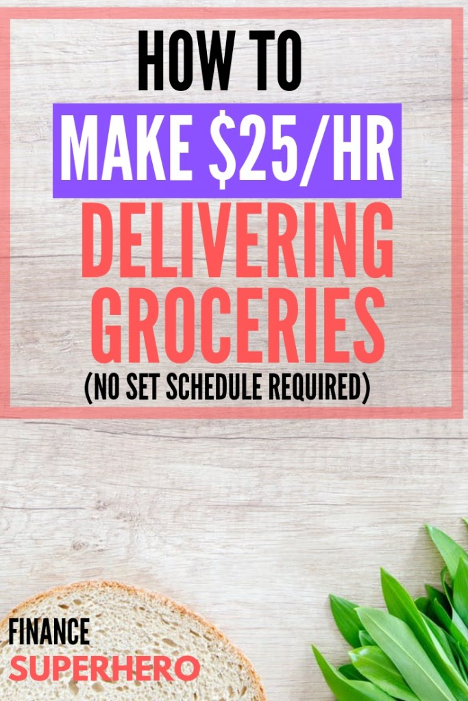 Instacart Review | Make Money online | make extra money | side hustles | flexible jobs | flexible side hustles | high paying jobs | make money in your spare time | side gigs | gig economy | deliver groceries | make more money | stay at home moms