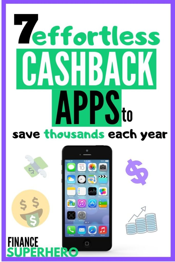 Looking for the best cashback apps to get free money and cash rewards every month? We've assembled this list of the top money saving apps we actually use to save over a thousand dollars each year. They're 100% free and 100% legit. #moneytips #makemoneyonline