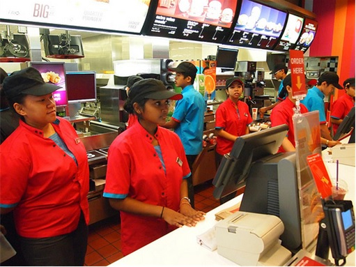 Image result for mcdonalds workers