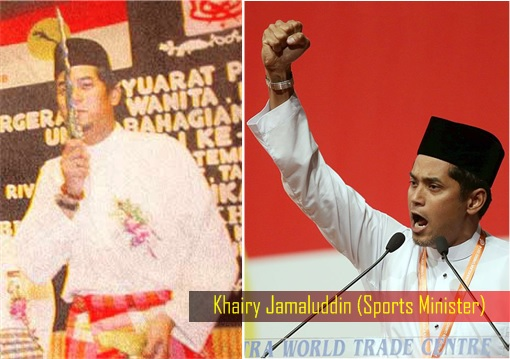 Image result for Khairy Jamaluddin the Extremist