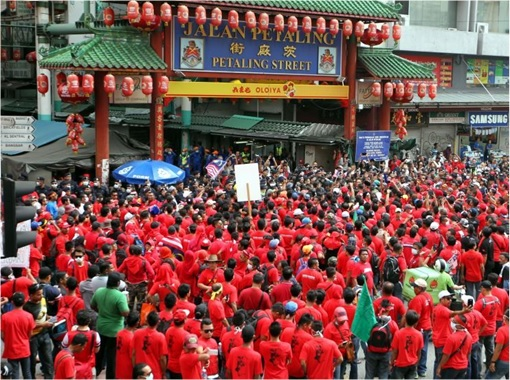 Image result for The Red Shirts in Petaling Street