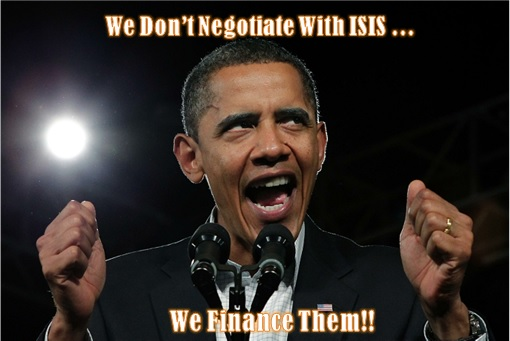 Barack Obama - We Don't Negotiate with Terrorists - We Finance Them