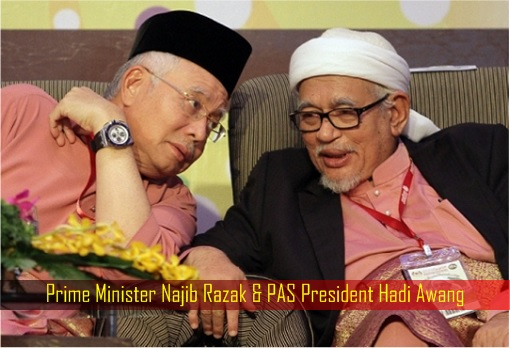 Image result for Najib supports Hudud