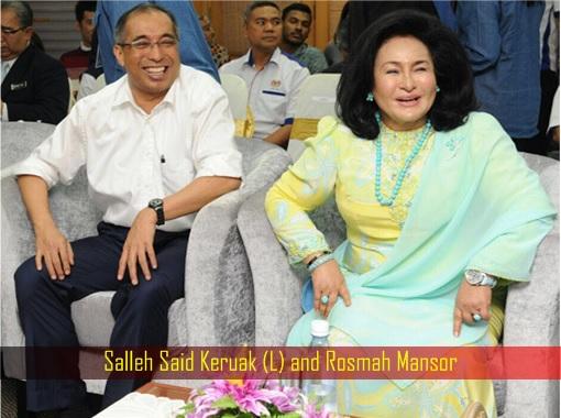 Image result for Salleh Said Keruak