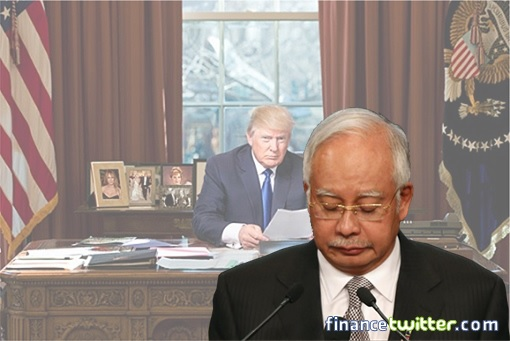 Image result for Najib to meet Trump