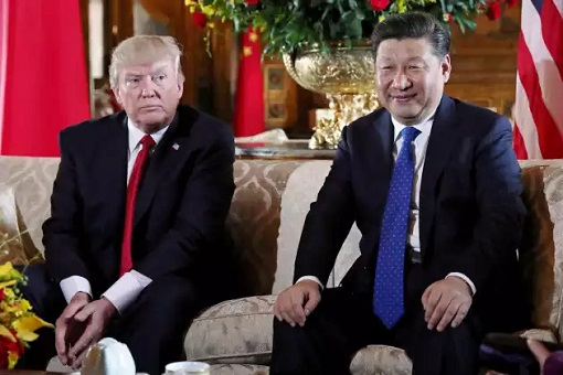 President Donald Trump Meets President Xi Jinping - Smile and Unhappy Faces