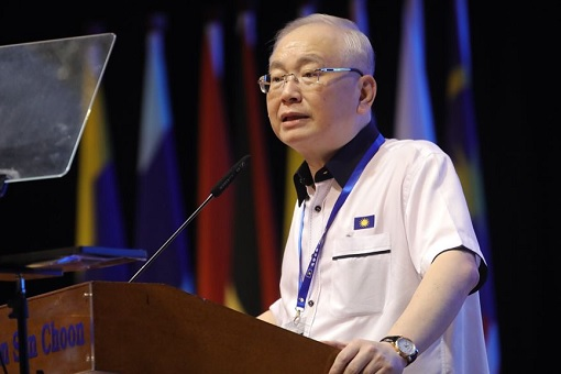 MCA President Wee Ka Siong - 67th MCA General Assembly