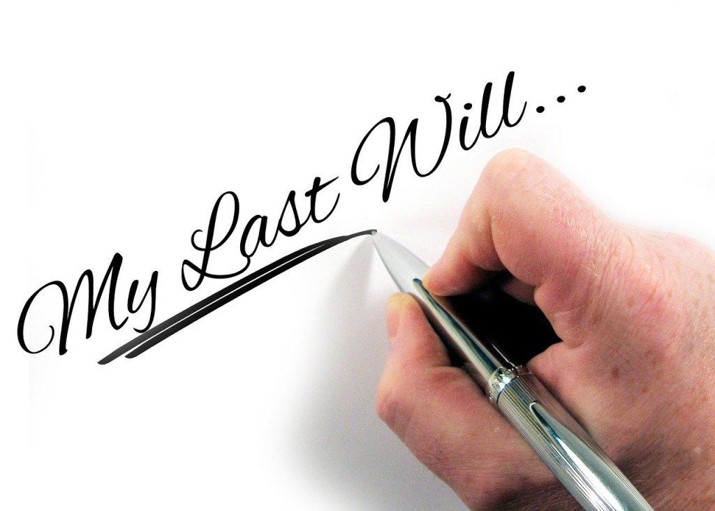 last will - financial advisor winnipeg