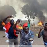 Ouagadougou, porte de  Brandebourg