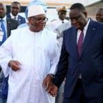 IBK et Macky Sall à Nouakchott pour des condoléances