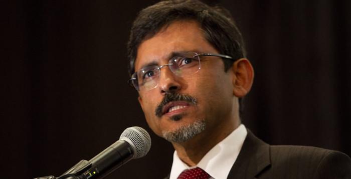 Ebrahim Pastel, ministre de l'Économie de l'Afrique du Sud