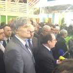 France: Hollande sifflé au salon de l'Agriculture