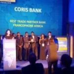 Coris Bank remporte le prix de meilleure banque en Afrique francophone