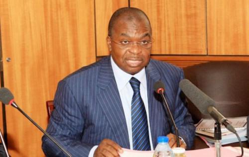 Louis-Paul  Motaze , ministre de l'Économie, de la planification et de l'aménagement du territoire du Cameroun.