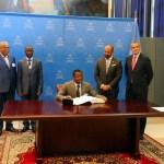 Le Togo signe l'Accord de Paris sur le Climat