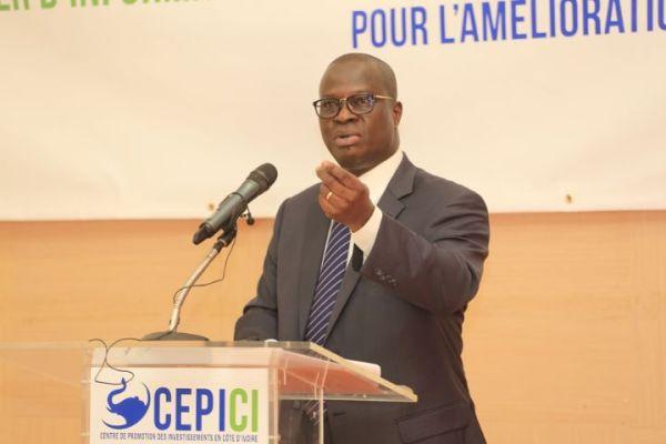 Essis Emanuel, le directeur général du CEPICI