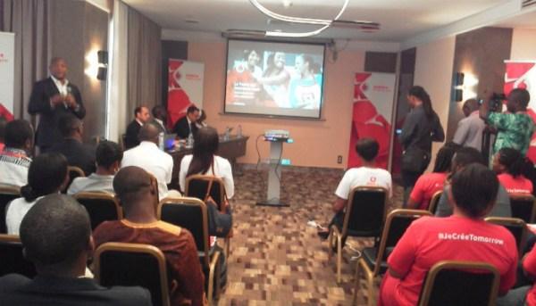 Conférence de presse de lancement Vodafone Cameroun