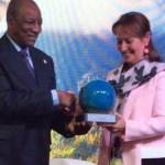 COP 22: Alpha Condé récompensé pour son engagement en faveur de l'électrification de l'Afrique