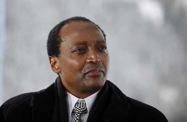 all on set simon dawson all on set simon dawson Patrice Motsepe, founder and chairman of African Rainbow Mineral Ltd., Photographer: Simon Dawson/Bloomberg *** Local Caption ***