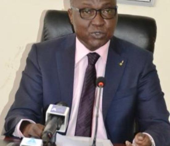 M. Béchir Madet, ministre tchadien du Pétrole