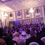 Vue du dîner offert par la Saham, lundi 13 février, en l'honneur des délégués.