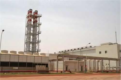 Une nouvelle centrale électrique au diesel près de Niamey — Niger