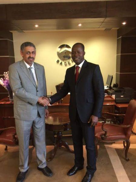 Archives: Sidi Ould Tah, Directeur général de la BADEA et Idrissa Nassa, PDG Coris Bank