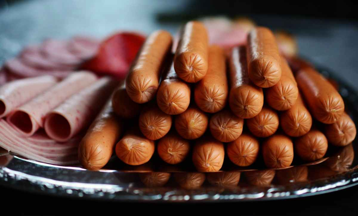 an image of a tray of smokies