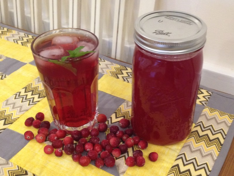 How to Make Simple Cranberry Juice