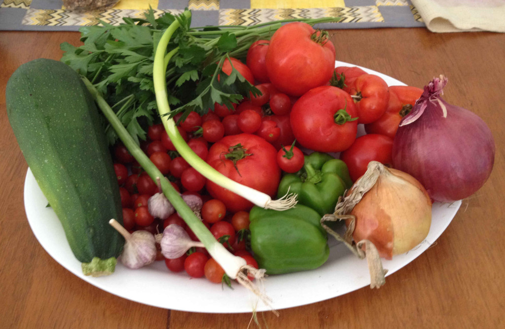 The Garden Salsa Canning Recipe
