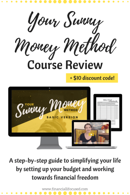 Budgeting | Course Review | Financial Plan | Your Sunny Money Method