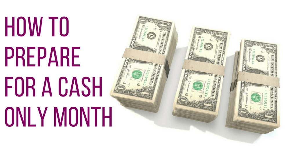 Cash Only Month | Budgeting | Money Tips