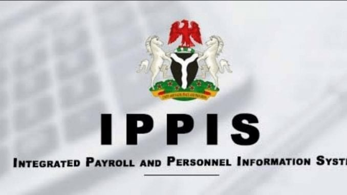 Integrated Payroll Personnel Information System Ippis