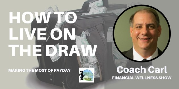 Podcast Artwork Financial Wellness Show 037 living on a draw