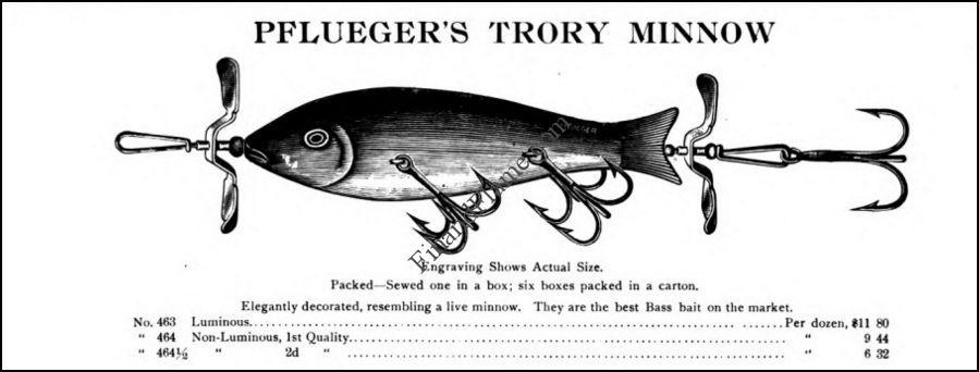 Pflueger Trory Minnow Lure Ad