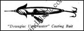 Heddon Dowagiac Underwater 1902 Ad