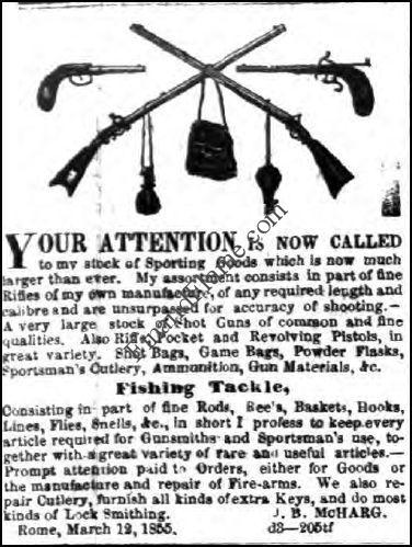 Mcharg Lure Ad 1855