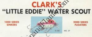 Clark Little Eddie Water Scout