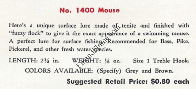 Paul Bunyan Mouse Catalog Cut