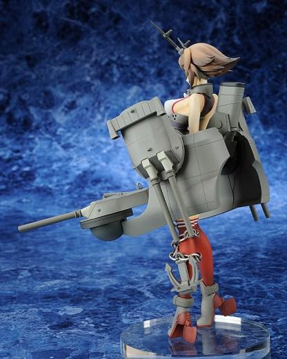 Japanese battleship Mutsu figure