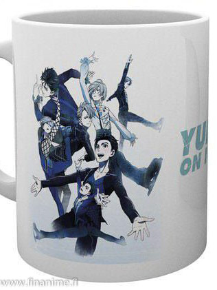 Yuri!!! on Ice - Key art - mug