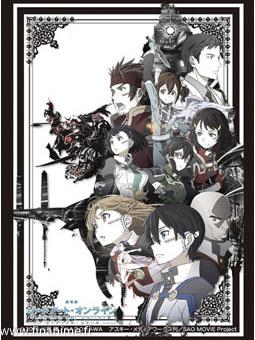Sword Art Online: Ordinal Scale characters - Kirito card sleeve