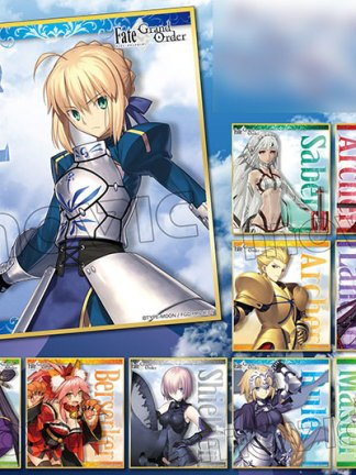 Fate/Grand Order shikishi-gacha - Fate/Grand Order shikishi