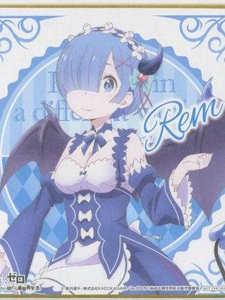 Re:Zero - Rem - shikishi