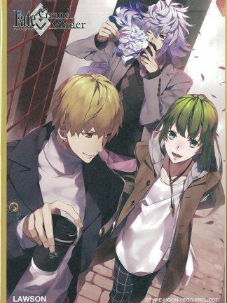 Fate/Grand Order - Gilgamesh, Enkidu & Merlin - Fate/stay night shikishi