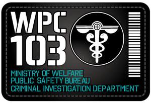 Psycho-Pass - Public Safety Bureau - patch