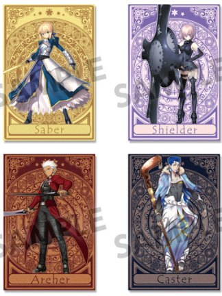 Fate/Grand Order vol 1 postikorttisetti - Saber