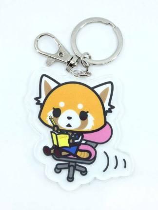 Aggretsuko avaimenperä - Hello Kitty