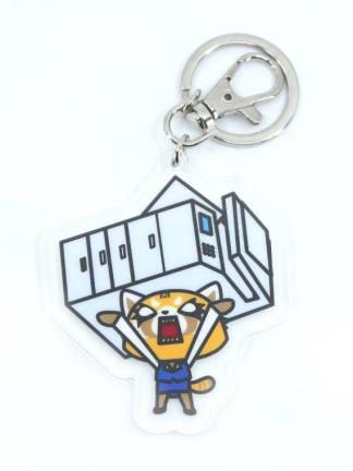 Aggretsuko Rage avaimenperä - Aggretsuko key chain
